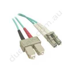 LC-SC OM3 Duplex Patch Lead 2M