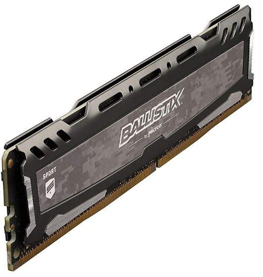 Crucial Ballistix Sport RAM Module - 4 GB - DDR4 SDRAM