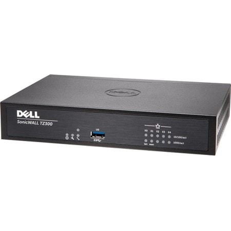 Sonicwall TZ300 Advanced Security bundle with 3 year 24 x 7 Support & Security services