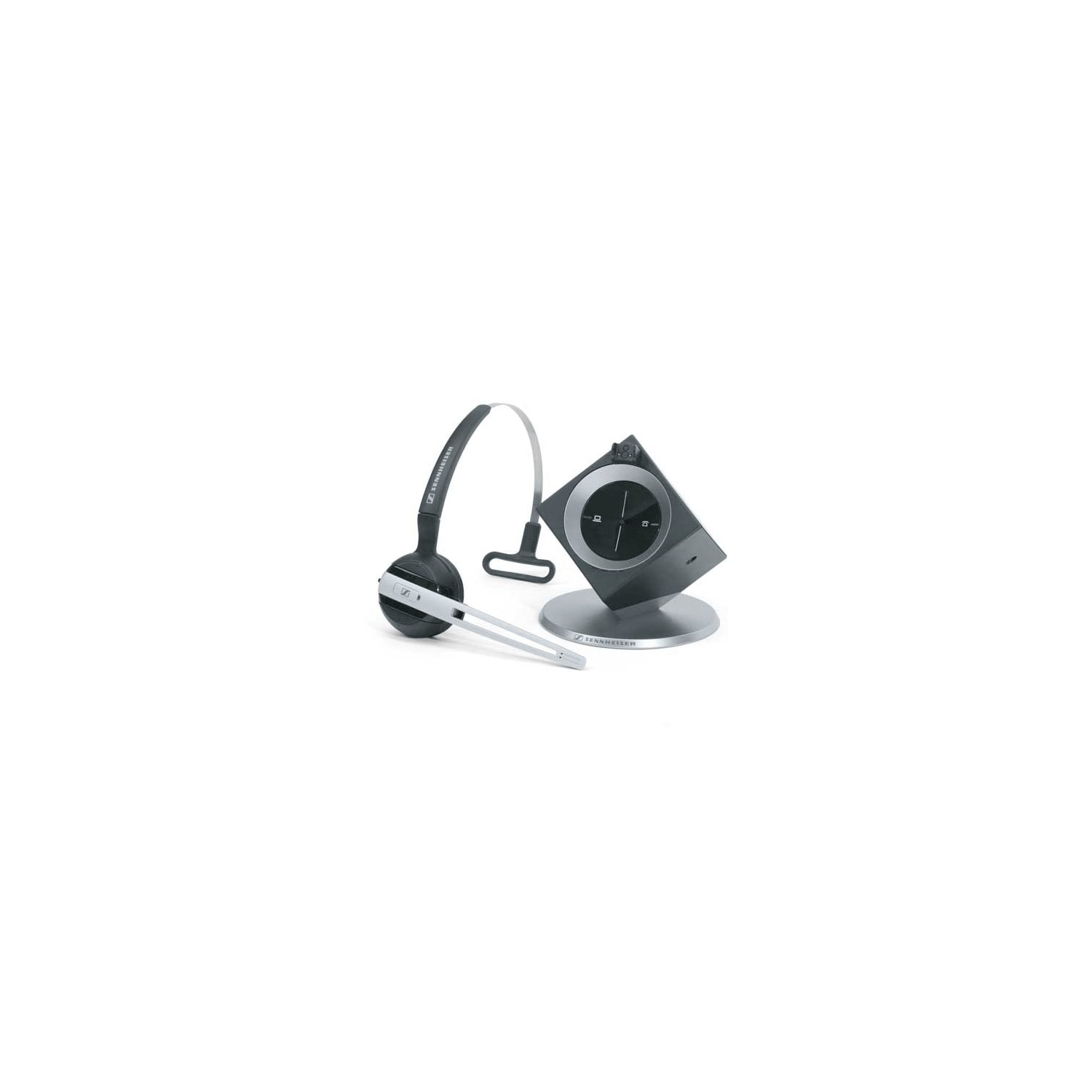 cad620e6744 Sennheiser DW Office - Dect Wireless Office Headset With Base Station, For  Desk Phone And