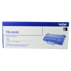 Brother TN-3440 Mono Laser Toner - High Yield- HL-L5100DN, L5200DW, L6200DW, L6400DW & MFC-L5755DW, L6700DW, L6900DW Up To 8000 Pages
