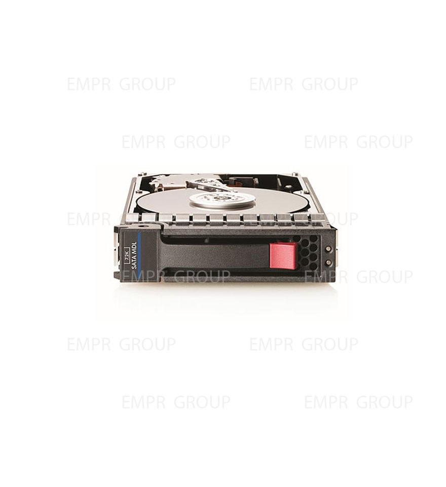 """HPE 4 TB Hard Drive - 3.5"""" Internal - SATA (SATA/300)"""