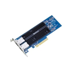 Synology E10g18-T2 10Gbe Single Ethernet Adapter Card With RJ-45 Connectors.