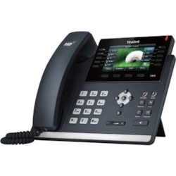 """Yealink T46S 16 Line IP phone, 4.3"""" 480x272 pixel colour display with backlight"""