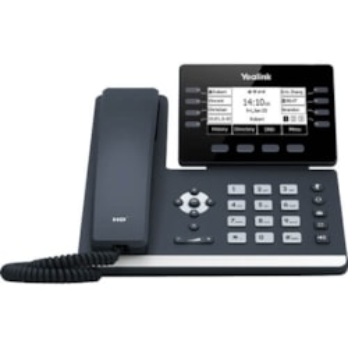 Yealink Sip-T53w - Premium Monochrome Gigabit Ip Phone With Inbuilt Wifi And Bluetooth