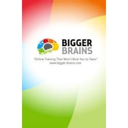Bigger Brains E-Learning Subscription - All Modules - 5 users