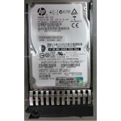 "HPE 600 GB Hard Drive - 2.5"" Internal - SAS (6Gb/s SAS)"