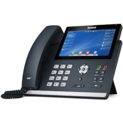 "Yealink (Sip-T48u) 16 Line Ip Phone, 7"" 800X480 Pixel Colour Touch Screen,"