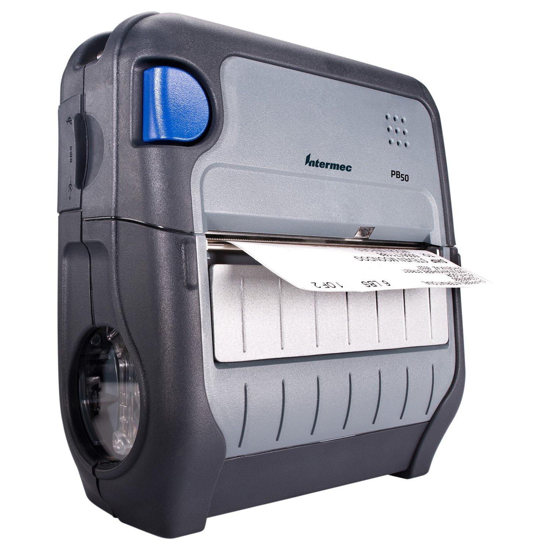 Intermec PB50 Direct Thermal Printer - Monochrome - Portable - Label Print