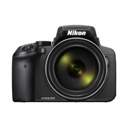 Nikon Digital Compact Camera Coolpix P900, Black, 16.1MP, 83X Optical Zoom, Fixed Lense, F/2.8-6.5, SD Card Slot - Limited Stock!