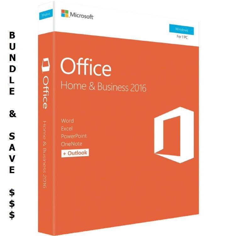 Microsoft Bundle 5 X Microsoft Office 2016 Home &Amp;