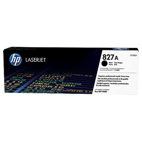 HP 827A Black Laserjet Toner 29.5K Cartridge Carton Is Water Damaged