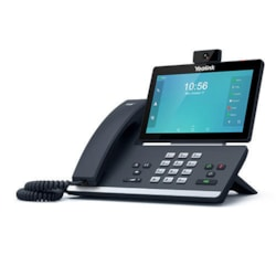 """Yealink 16L Ip HD Android Vid Phone,7""""1024X600col T-SCRN,HD Voice,Dual Gig Ports,Wifi"""