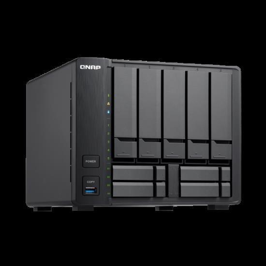 Qnap TS-963X-8G,5+4 Bay Nas(No Disk),8Gb,Amd GX-420MC,GbE(1),10GbE(1),TWR,2YR