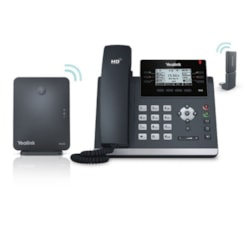 Yealink W41P, Dect Desk Phone W41P Is A Package Of T41S, W60B And Dect Dongle DD10K