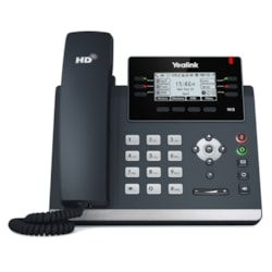 Yealink Sip-T41s Skype For Business Edition (Power Adapter & Wall Mount Bracket Optional)