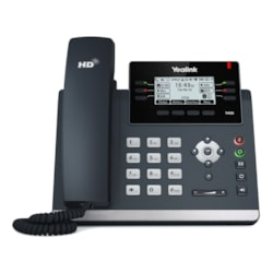 Yealink Sip-T42s Skype For Business Edition (Power Adapter & Wall Mount Bracket Optional)