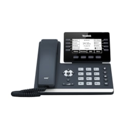 Yealink 12 Line Ip HD Phone, 3.7'' 360 X 160 Greyscale Screen, HD Voice, Dual Gig Ports, Built In Bluetooth And WiFi, Usb 2.0 Port