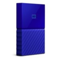Western Digital WD MY Passport 2TB Portable Hard Drive - Blue