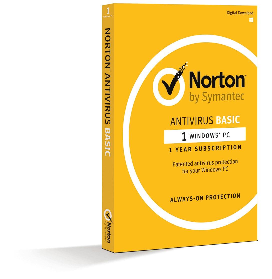 Norton Antivirus Basic 1.0 1 User, 1 Device, 12M Subscription - Retail Box