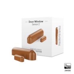 Fibaro Z-Wave Door Sensor Light Brown