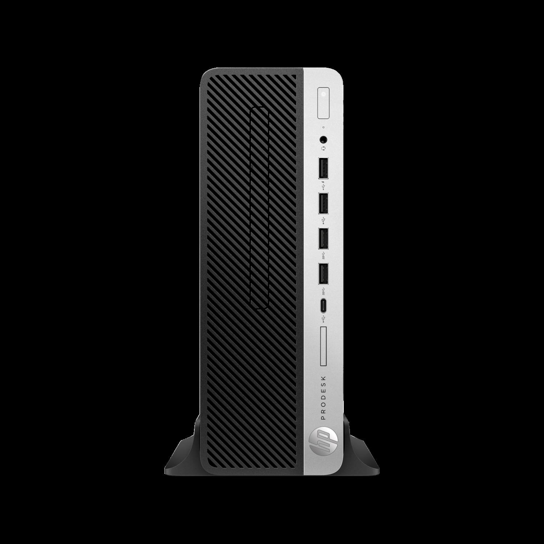 HP SFF 600 G4 Core i5-8500  8GB RAM 1TB HDD Windows 10 Pro 64-bit 3yr Wty + 2 x P232 monitor + Office 2019 Bundle