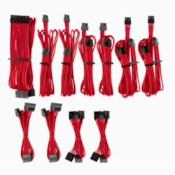Corsair For Corsair Psu - Red Premium Individually Sleeved DC Cable Pro Kit, Type 4 (Generation 4)