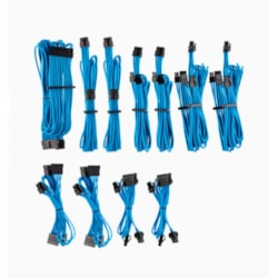 Corsair For Corsair Psu - Blue Premium Individually Sleeved DC Cable Pro Kit, Type 4 (Generation 4)