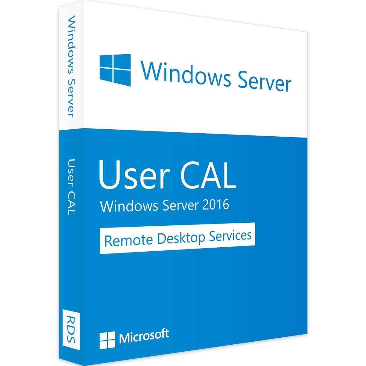Microsoft Remote Desktop Services 5 User Cal 2016 - Leader Version