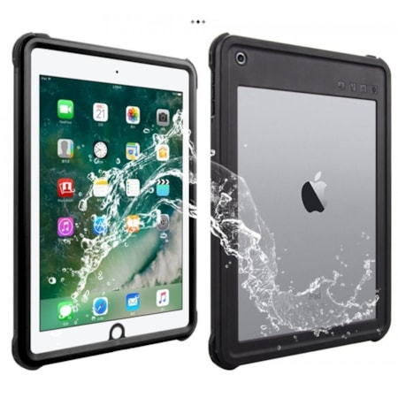 "V-Series V2 Waterproof/ Dust Proof Protective Case For iPad Air 1/ iPad 9.7"" 2017/ 2018 - Black/ Clear"
