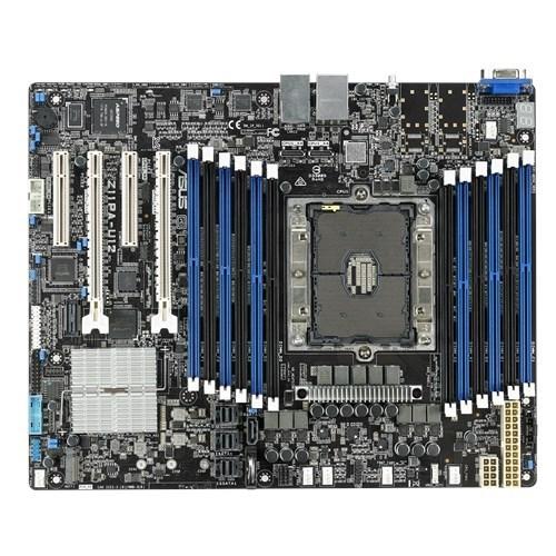 Asus Z11pa-U12 MB, Socket P, Intel C621, 12X DDR4, 2X Pcie3.0 X16, 13X Sata3, 1X M.2, 4X Usb3.0, Vga, Atx,