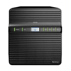 "Synology DiskStation DS420j 4-Bay 3.5"" Diskless 1xGbE Nas , Realtek RTD1296 4-Core 1.4GHz, USB3.0x 2, 2 YR WTY - Launch 9Jan2020"