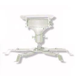 Image Universal Projector Ceiling Mount - White, 140MM Drop 20KG Max