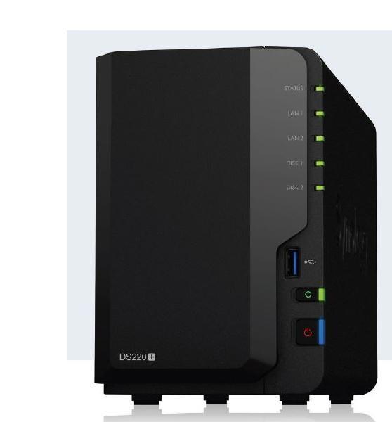 """Synology DiskStation DS220+ 2-Bay 3.5"""" Diskless 2xGbE Nas (HMB),Intel Celeron J4025 2-Core 2.0GHz,USB3.0 X2, Launch 18Jun (Tentative)"""