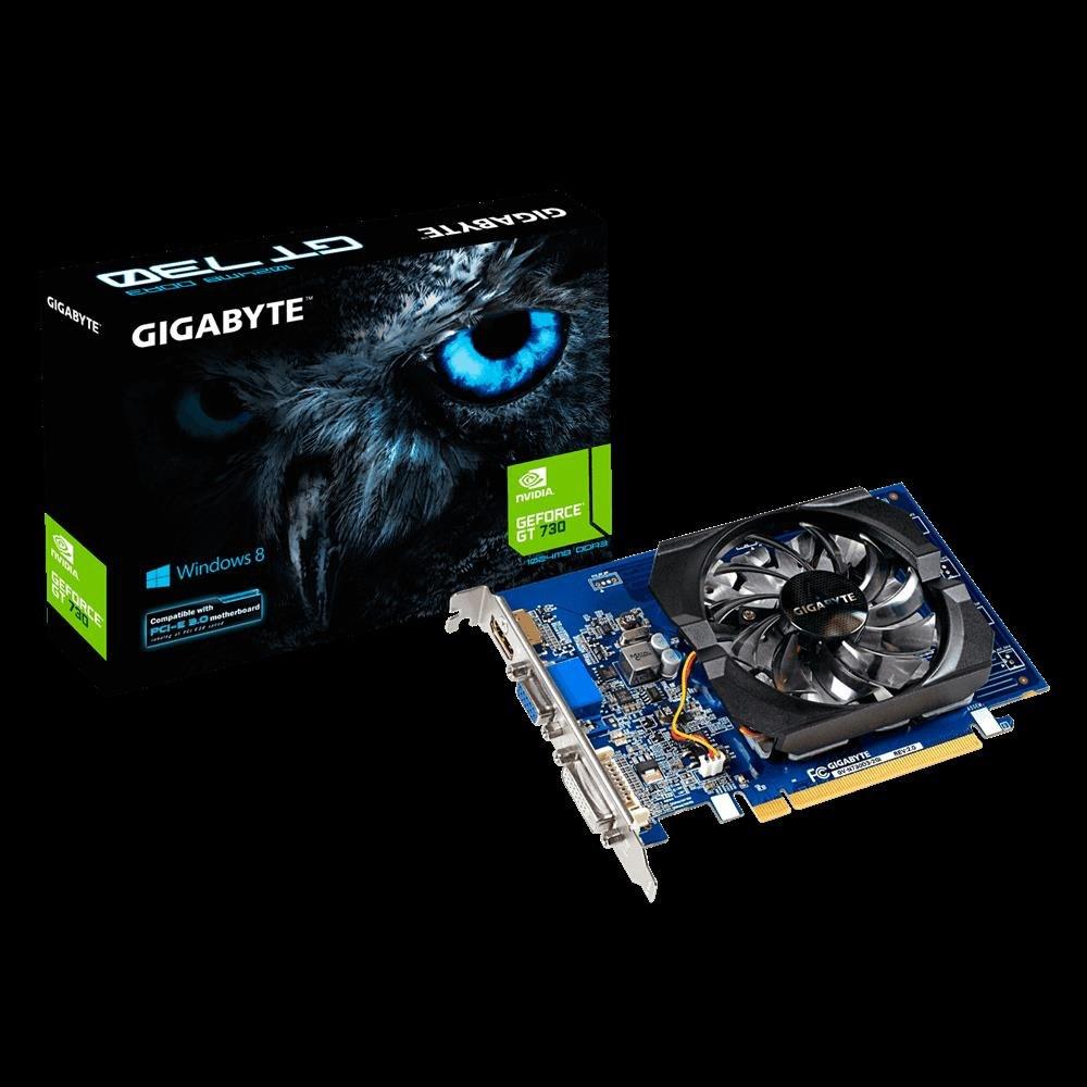 Gigabyte GF GT730 PCIe X8, 2GB DDR3, Dvi, Hdmi, 3YR WTY