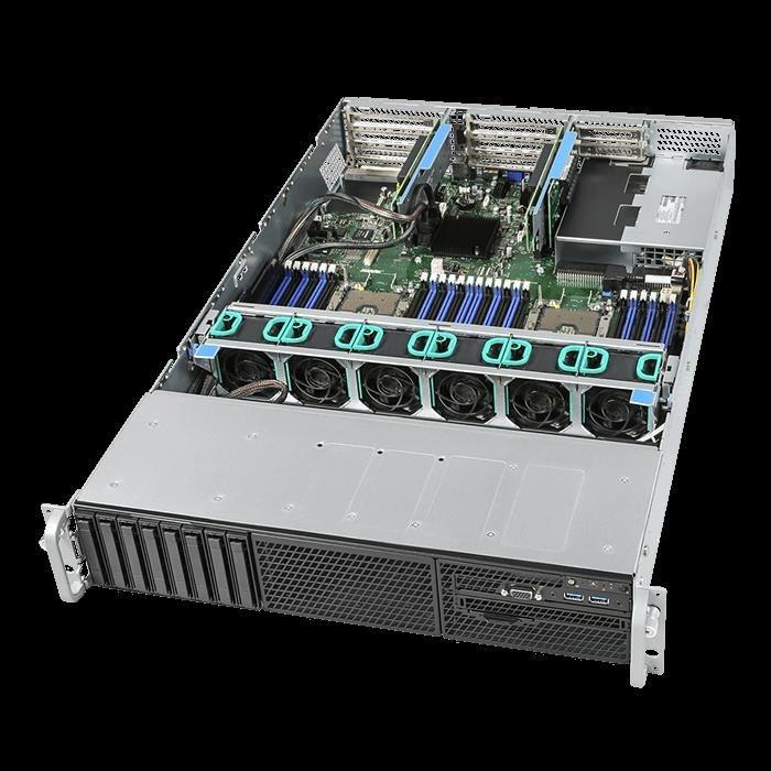 """Intel 2U SVR, 4110(1/2), 32GB(2/24), 2.5""""(0/8), Vroc, RPS, RMM, 10GbE, 3YR"""
