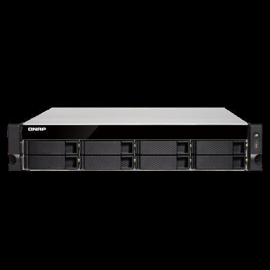 Qnap Ts-832Xu-4G, 8 Bay Nas (No DISK),4GB,AL-324,USB,GbE(4),10GbE Sfp+(2),2U,2Yr.