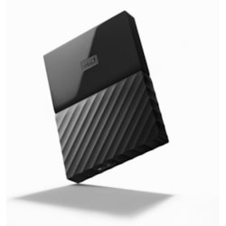 Western Digital WD MY Passport Portable 2TB Black 2.5' Portable Usb3.0. Built-In 256-Bit Aes Hardware Encryption