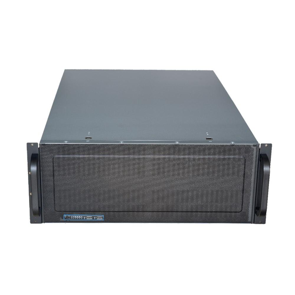 TGC Rack Mountable Server Chassis Case 4U 650MM Depth With Atx Psu Window -  No Psu
