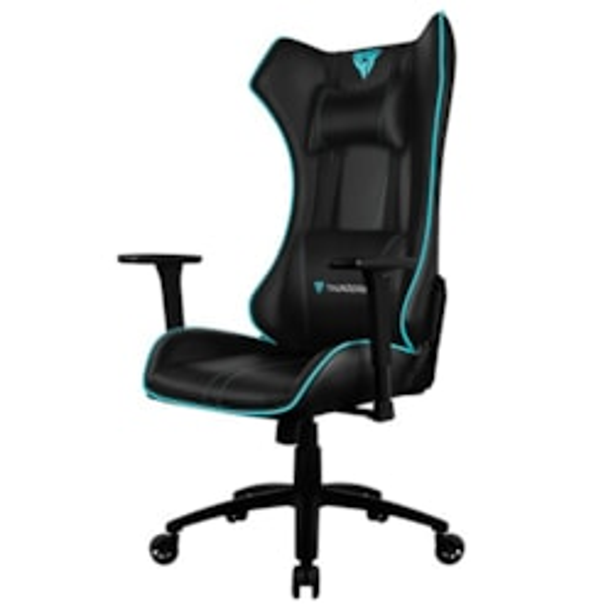 ThunderX3 Uc5 Hex RGB Lighting Gaming Chair - Black/Cyan