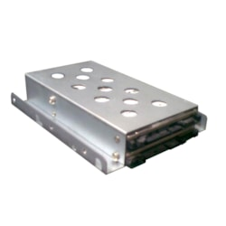 "TGC 1 X 3.5"" To 2 X 2.5"" HDD/SSD Tray Converter Silver"