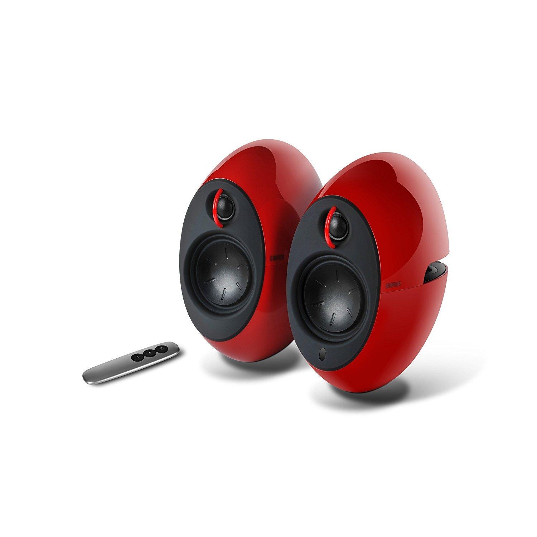 Edifier 'Luna Eclipse' E25 Bluetooth Speakers - Red