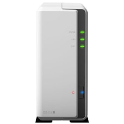 """Synology DiskStation DS119j 1-Bay 3.5"""" Diskless 1xGbE Nas (Tower) (Soho), Marvell 800MHz, 2xUSB2 - 2 Years Warranty - Comes With 2 Camera Licenses."""