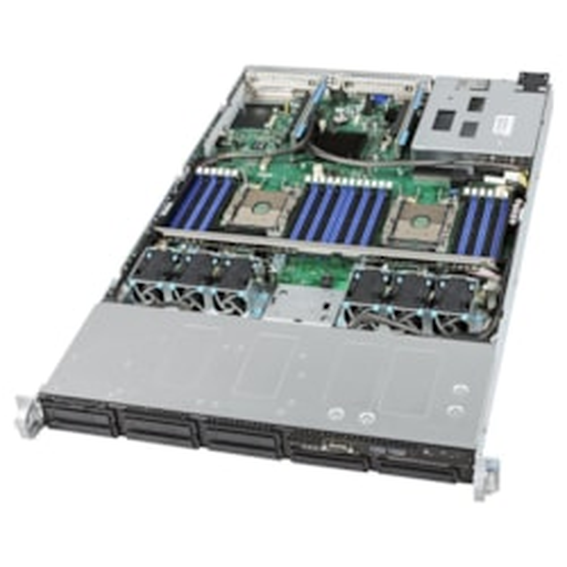 "Intel 2Ru SVR, 4208(1/2), 32GB(2/24), 3.5""(0/8), HW Raid, RPS, 10GbE, RMM, 3YR"