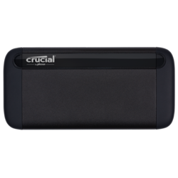 Crucial X8 500GB External Portable SSD ~1050MB/s Usb3.2 Gen2 Usb-C Slim Durable Rugged Shock Vibration Proof For PC Mac PS4 Xbox One Android iPad Pro