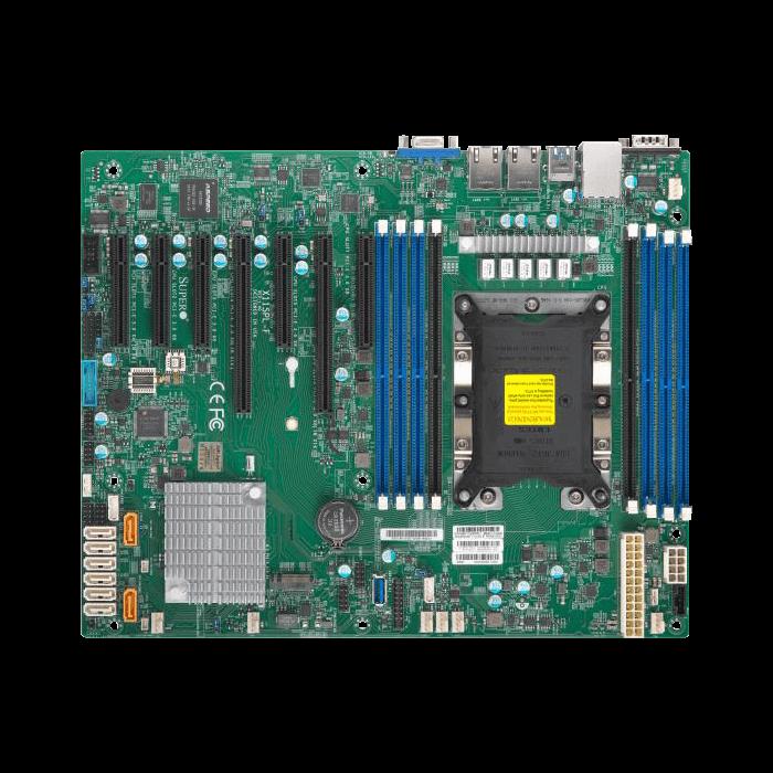 Supermicro X11SPL-F MotherBoard, Xeon Lga3647 Single Socket, C621, 8 X Dimm, 2 X GBe Lan, 8 X Sata3 Ports