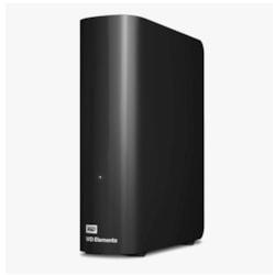 "WD Elements WDBBKG0030HBK-AESN 3 TB Desktop Hard Drive - 3.5"" External - Black"