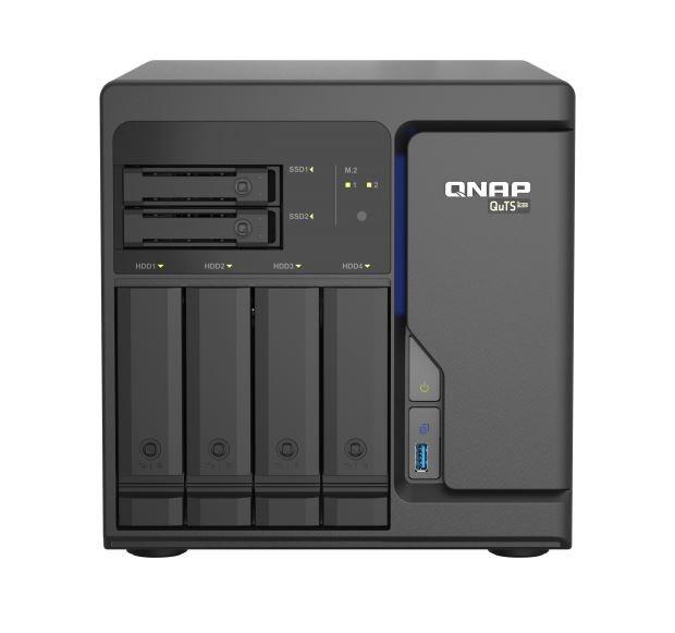 Qnap TS-H686-D1602-8G 6 Bay Nas (No Disk), Xeon D-1602, 8GB,2.5GbE(4),USB(3),PCIe(2),2YR