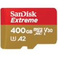 SanDisk 400GB Extreme microSD SDHC Sqxaf V30 U3 C10 A1 Uhs-1 160MB/s R 90MB/s W 4X6 SD Adaptor Android Smartphone Action Camera Drones
