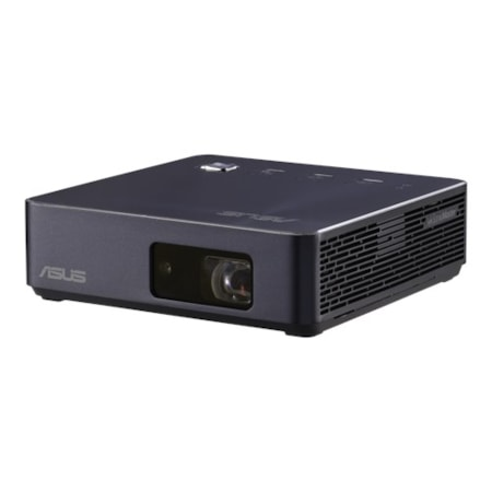 Asus S2 Portable Led Projector, 500 Lumens, Built-In 6000mAh Battery, Up To 3.5-Hour Projection, Power Bank, Hdmi/Usb-C, Navy